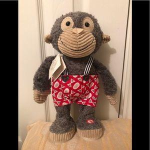 Hallmark motion singing monkey